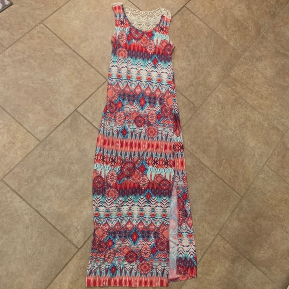 Hot Kiss Dresses & Skirts - Tie Dye Maxi dress